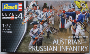 Revell 1/72 RV02452 Austrian Infantry & Prussian Infantry (7 Years War)
